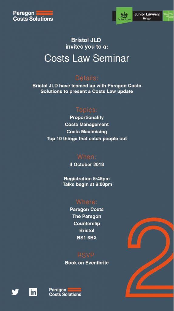 costs seminar